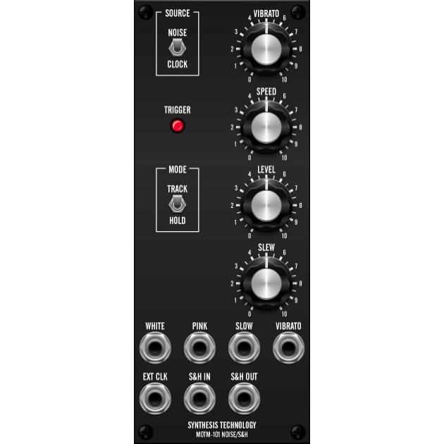 MOTM-101 noise generator/sample&hold (MOTM-101master) by synthcube.com