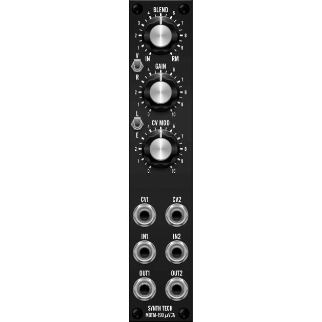 MOTM-190 dual vca + ring modulator (MOTM190MASTER) by synthcube.com