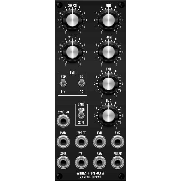 MOTM-300 ultra vco (MOTM300master) by synthcube.com
