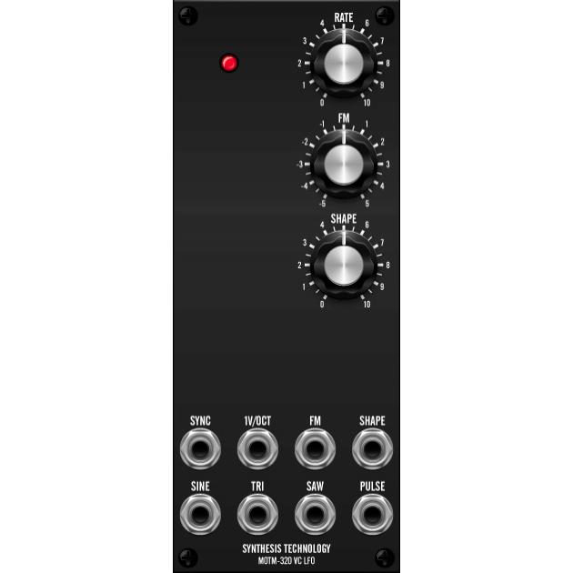 MOTM-320 vc lfo (MOTM320master) by synthcube.com