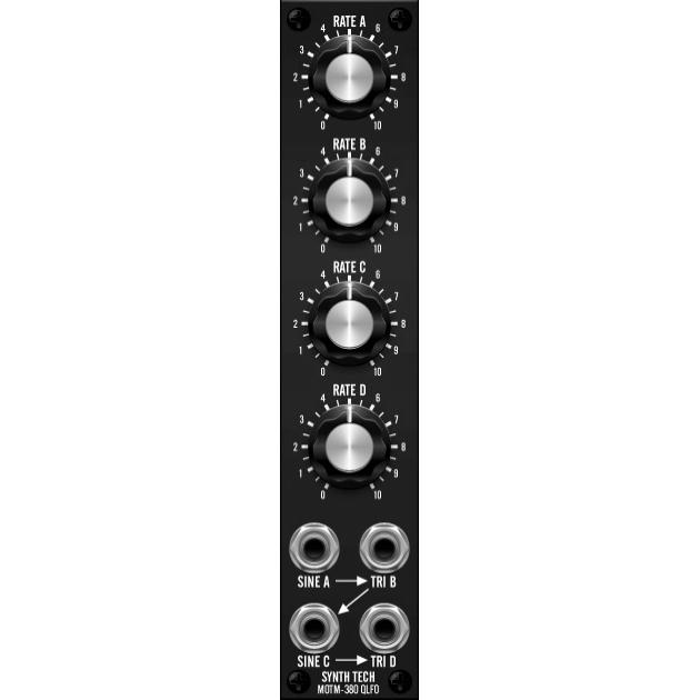 MOTM-380 quad lfo (MOTM380MASTER) by synthcube.com