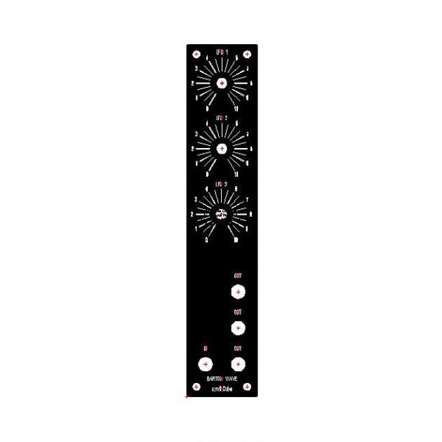 barton wave animator, kit, MOTM 1U (KITMBWAVEMOTM1U) by synthcube.com